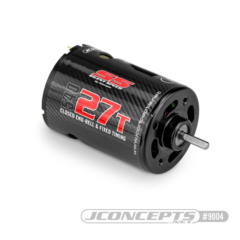 JConcepts Silent Speed, 27T, brushed fixed end bell competition motor
