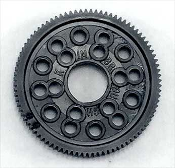Kimbrough 64P Pro Thin Spur Gear (115)