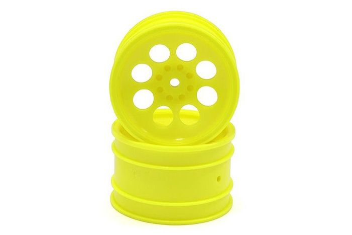Kyosho 8 Hole Wheel 50mm (Yellow/2pcs/Optima)