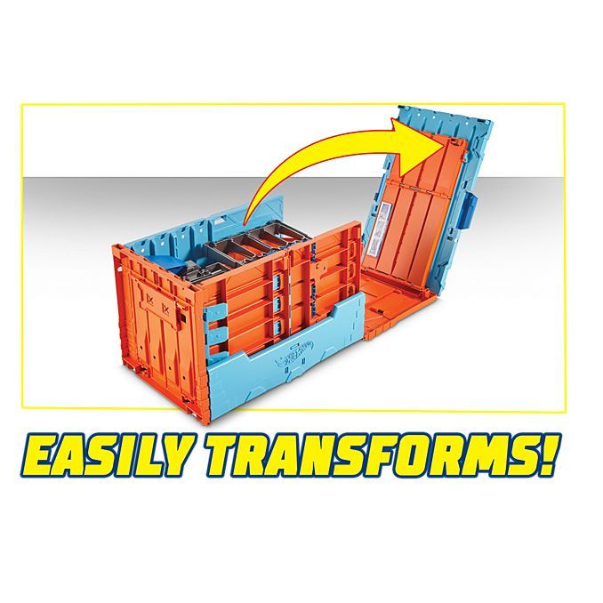 Hot Wheels Stunt Builder Race Crate (1 Pkg/Box)