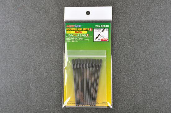Master Tools Disposable Mini Flat Brush (10)