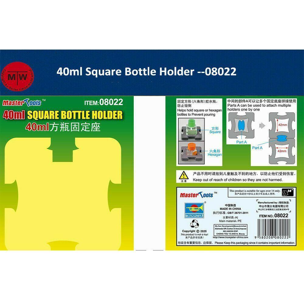 Master Tools 40ml Square Bottle Holder