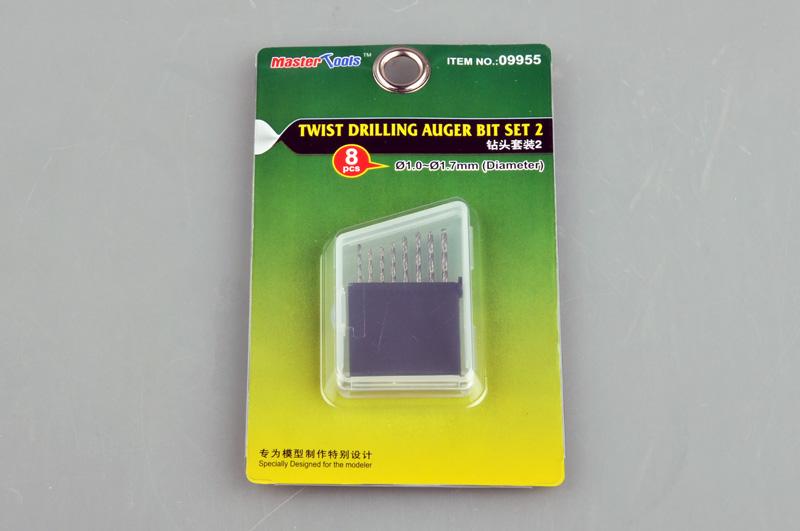 Master Tools Twist Drilling Auger Bit set 2