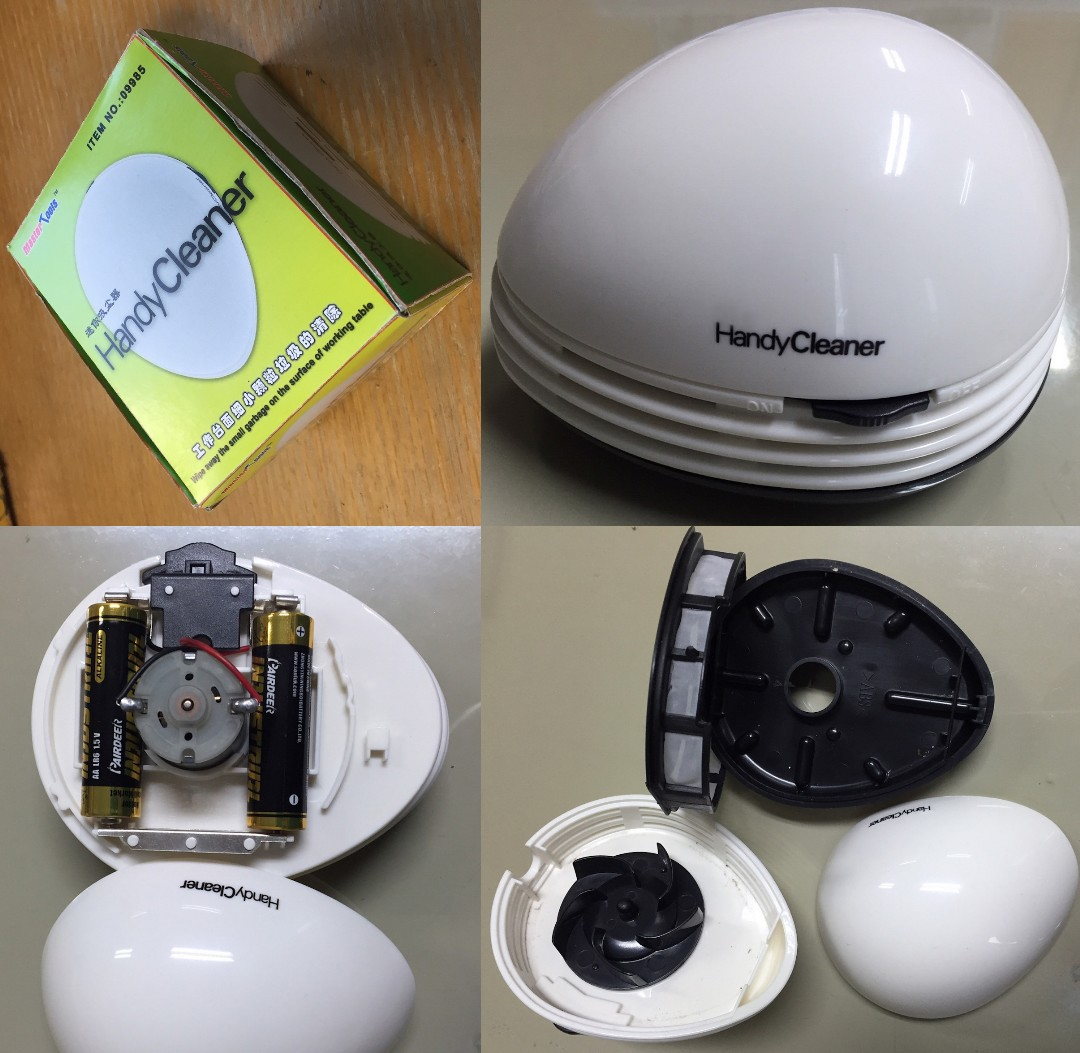 Master Tools Mini Vacuum Handy Cleaner