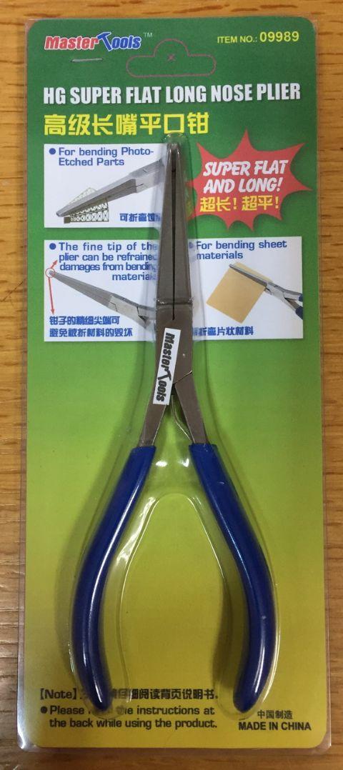 Master Tools HG Super Flat Long Nose Plier