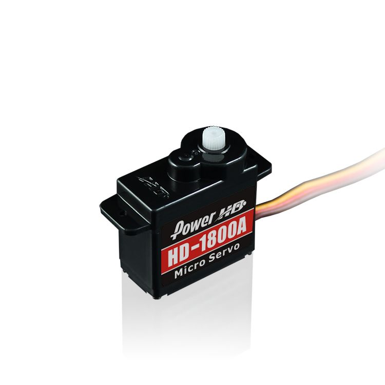 Power HD HD-1800A Analog Micro Servo 1.3KG 0.08sec@6.0V