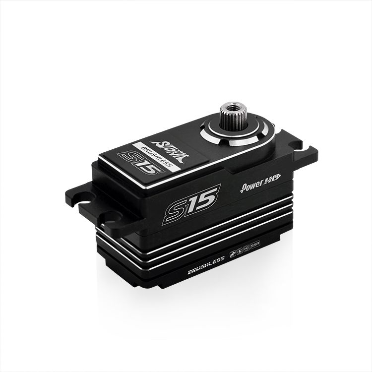 Power HD Storm S15 Low Profile HV Brushless Digital Servo w/Titanium Gears 16.5KG 0.05sec@8.4V