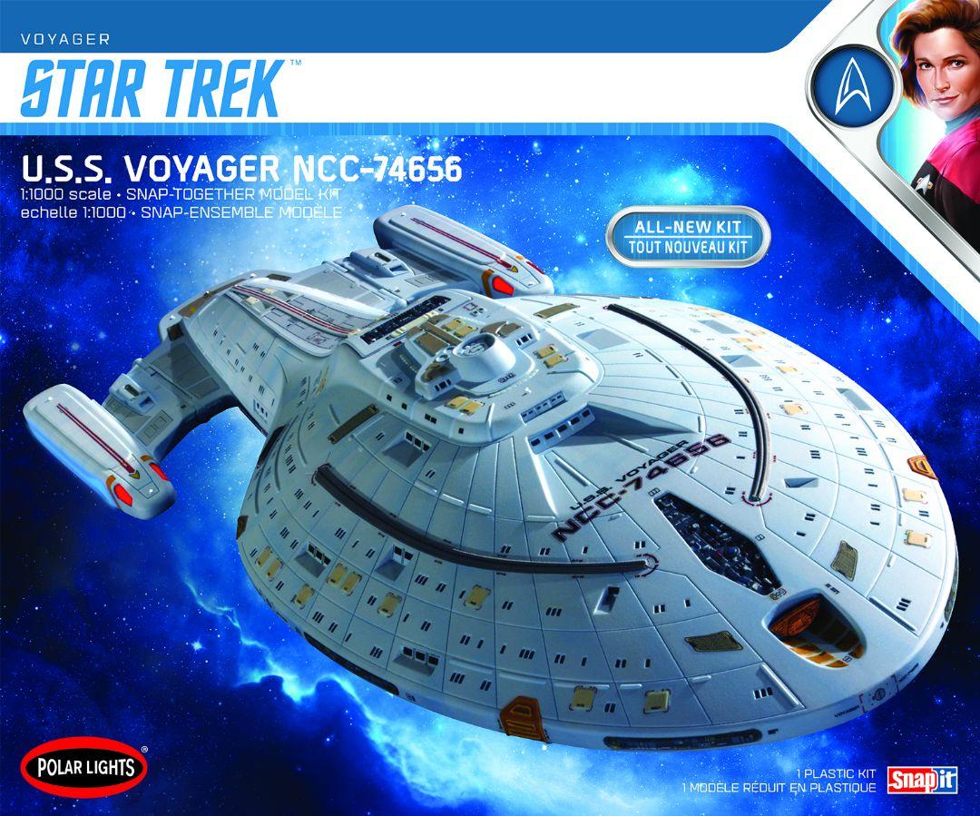 2T Polar Lights Star Trek U.S.S Snap Voyager