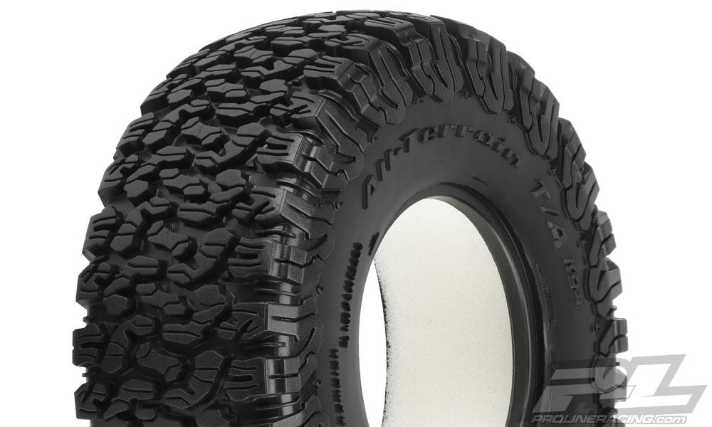 Pro-Line BFGoodrich All-Terrain T/A KO2 M2 (Medium) Tires (2) for Desert Truck Front or Rear