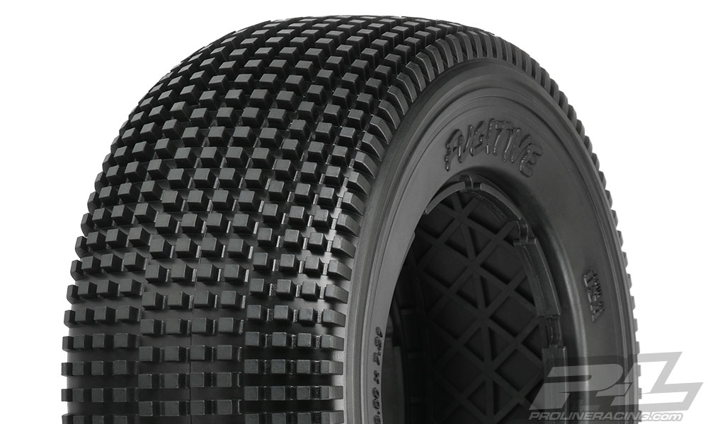 Pro-Line Fugitive X2 (Medium) Off-Road Tires (2) No Foam for Baj