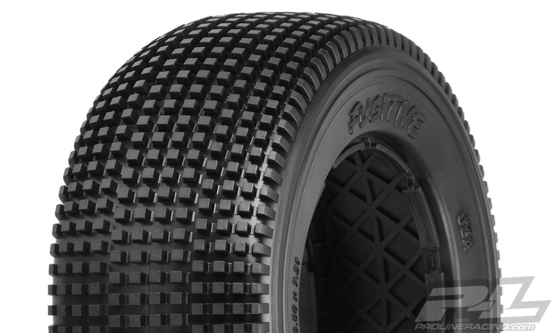 Pro-Line Fugitive S2 (Medium) Off-Road Tires (2) No Foam for Baja 5SC Rear and 5ive-T Front or Rear