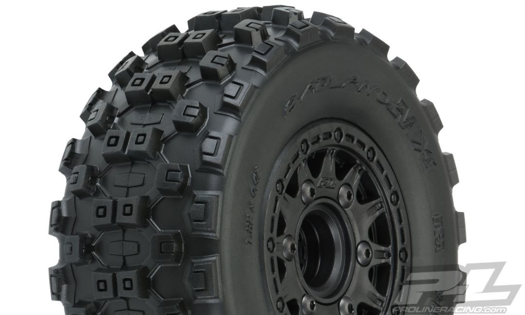Pro-Line Badlands MX SC M2 MTD Raid Slash 2wd/4WD F/R