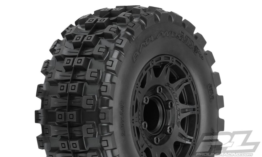 "Pro-Line Badlands MX28 HP 2.8"" All Terrain BELTED Tires Mounted"