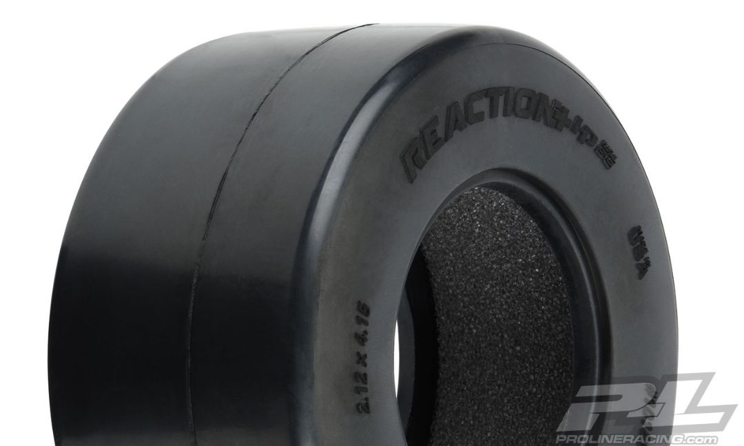 Pro-Line Reaction+ HP Wide SC S3 (Soft) Drag Racing BELTED Tires (2) for Pro-Line + Wide SC Wheels