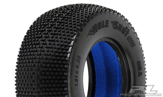 Pro-Line Hole Shot 2.0 SC M3 (Soft) Tires (2) for SC Trucks Front or Rear
