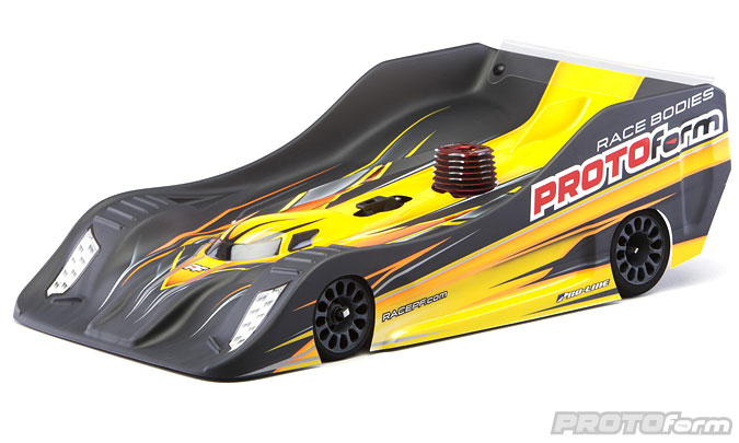 Pro-Line PFR18 Light Weight Clear Body for 1/8 On-Road