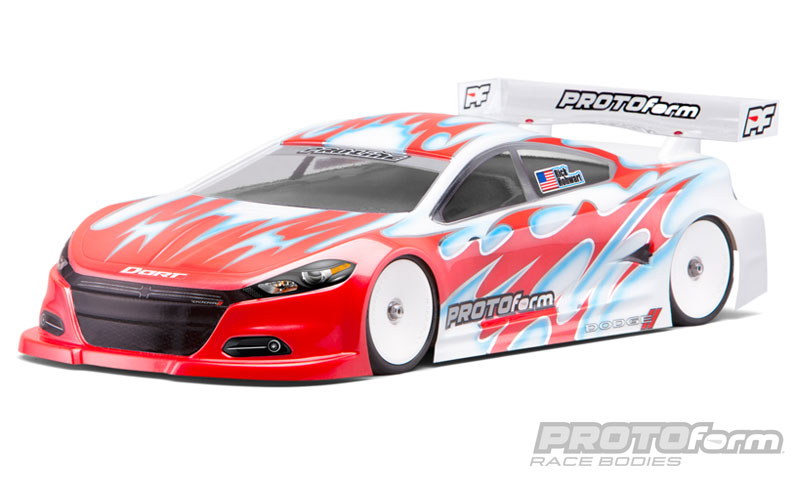 Pro-Line 2014 Dodge Dart Light Weight Clear Body for 190mm