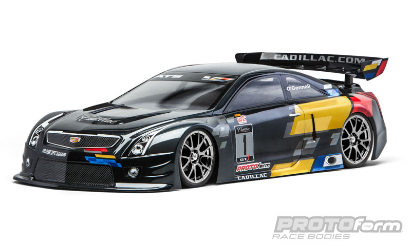 Pro-Line Cadillac ATS-V.R Clear Body for 190mm