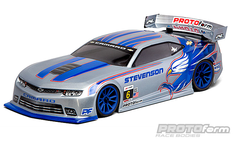 Pro-Line Chevy Camaro Z/28 Clear Body for 190mm TC