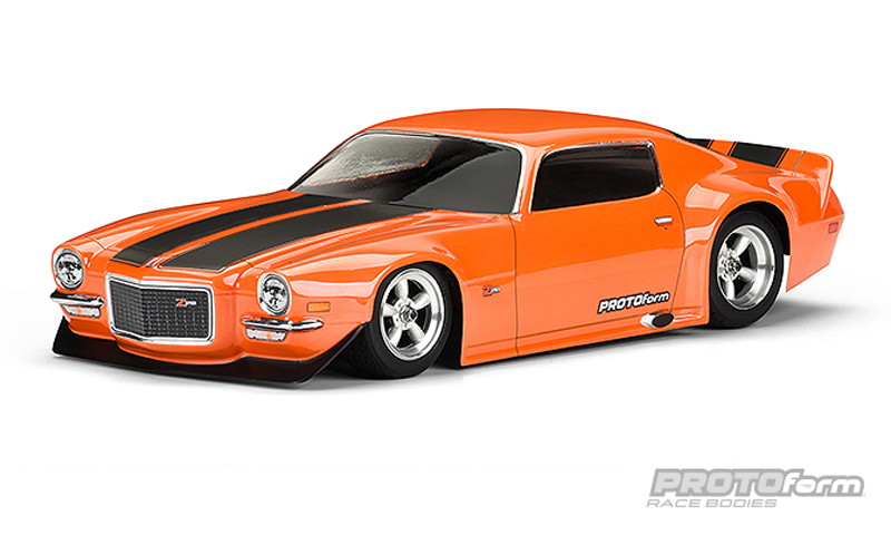 Pro-Line 1971 Chevrolet Camaro Z28 Clear Body for VTA Class
