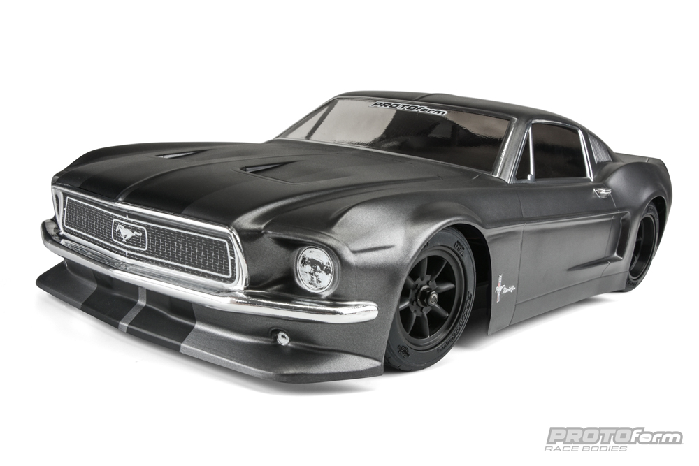 Pro-Line 1968 Ford Mustang Clear Body for VTA Class