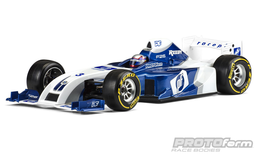 Pro-Line F26 Clear Body for 1/10 Formula 1