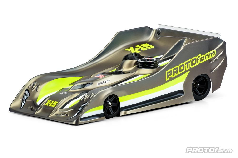 Pro-Line X15 Light Weight Clear Body for 1/8 On-Road