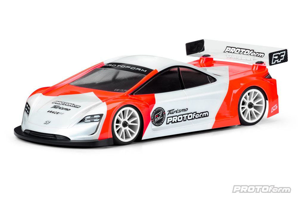 Pro-Line Turismo Light Weight Clear Body for 190mm TC