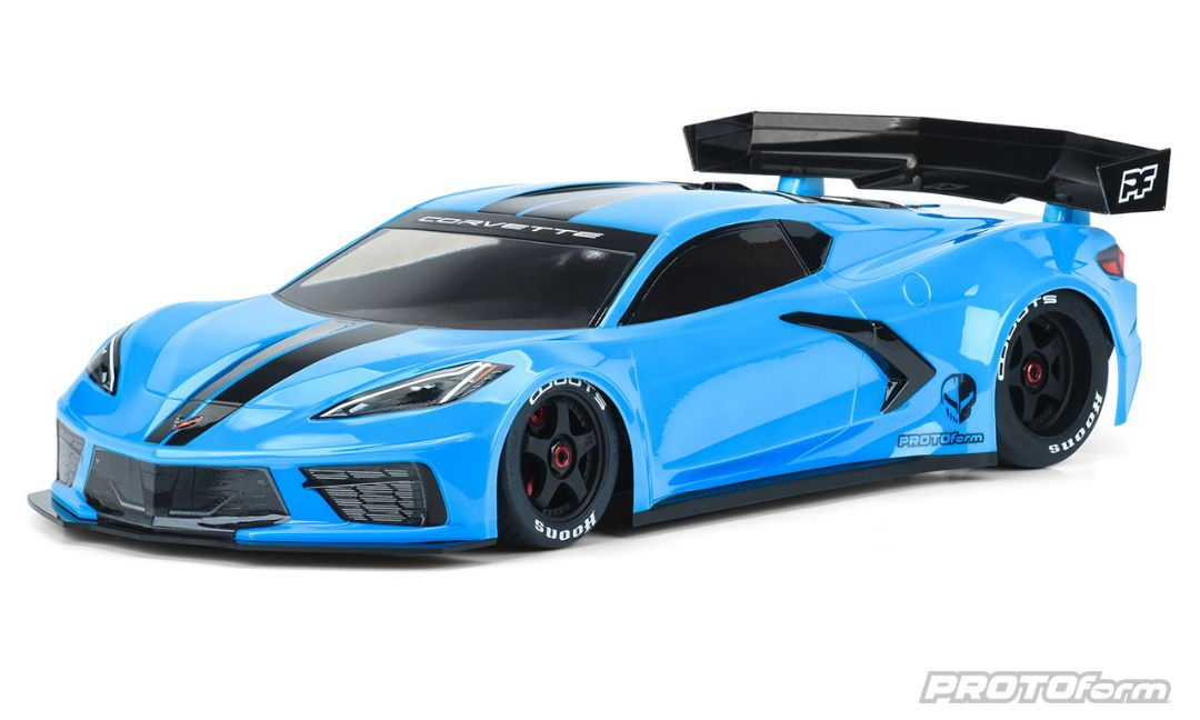 Pro-Line Chevrolet Corvette C8 Clear Body