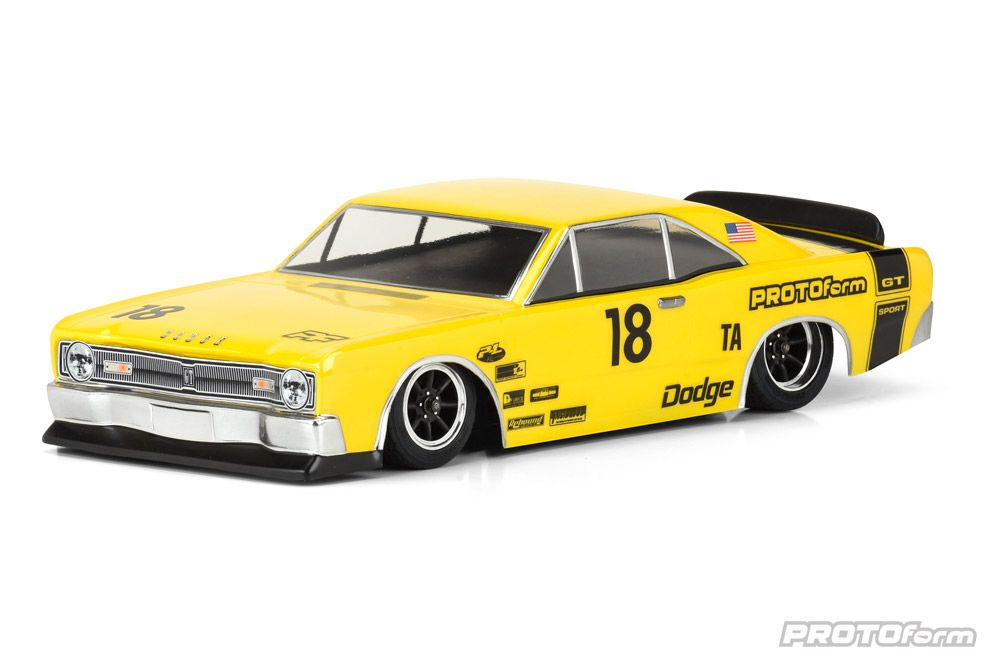 Pro-Line 1967 Dodge Dart Clear Body for VTA Class