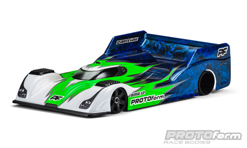 Pro-Line BMR-12 Clear Body for 1/12 On-road Car - Light Weight