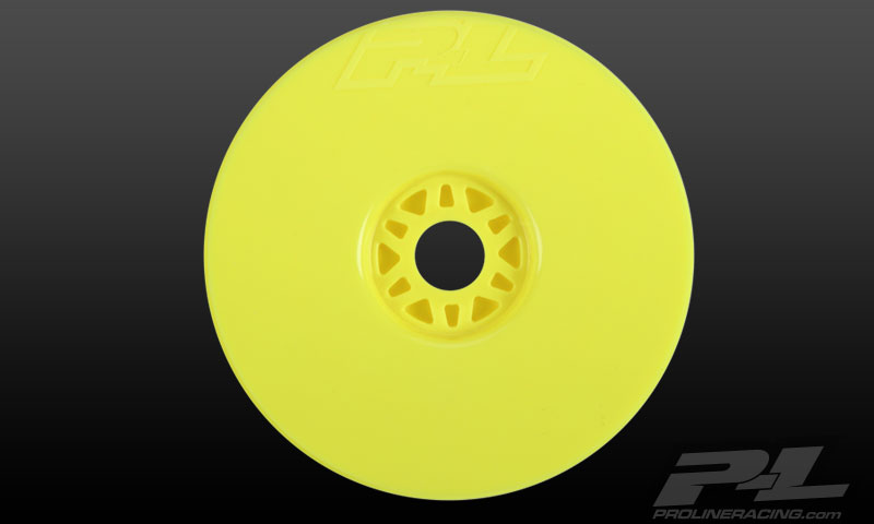 Pro-Line Velocity Yellow Front or Rear Wheels (4) for 1/8 Buggy