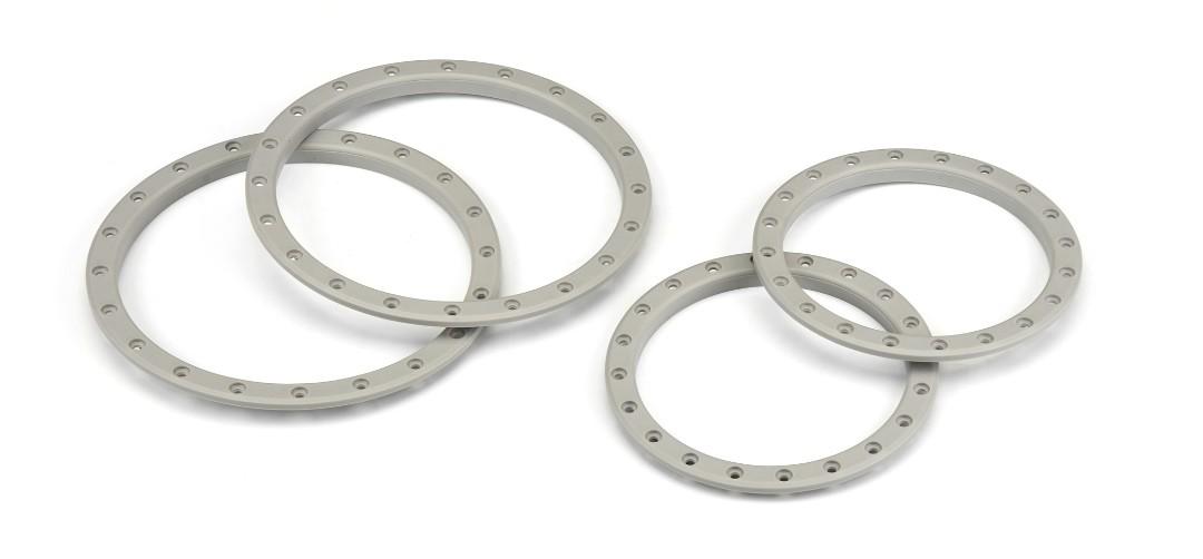 Pro-Line Impulse Pro-Loc Stone Gray Replacement Rings (2)