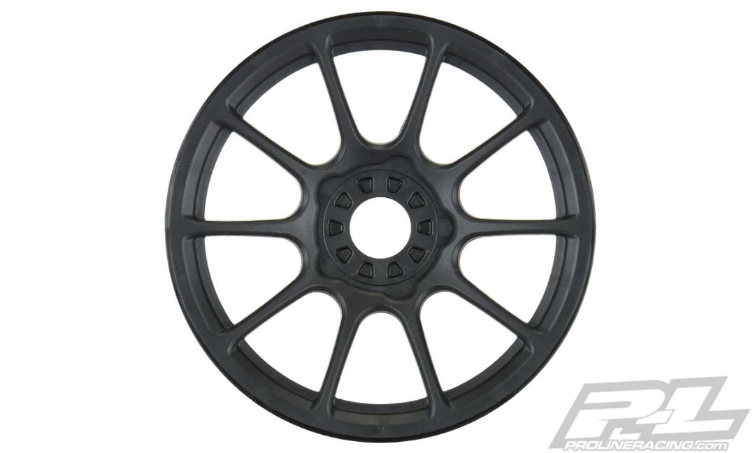 Pro-Line Mach 10 Black Wheels for 1/8 Buggy Front or Rear