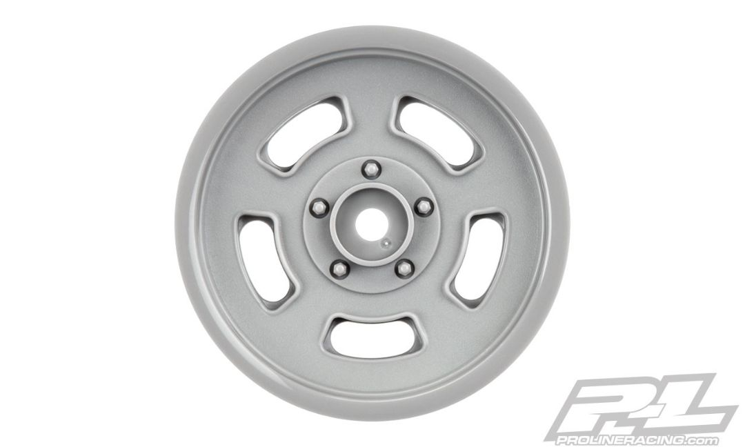 "Pro-Line Slot Mag Drag Spec 2.2"" Stone Gray Front Wheels"