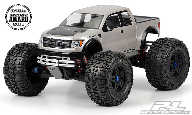 Pro-Line Ford F-150 SVT Raptor Clear Body for REVO 3.3 and T-MAXX 3.3
