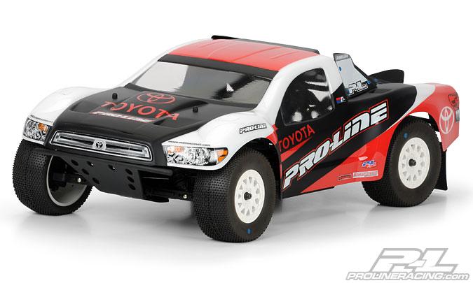 Pro-Line Toyota Tundra Clear Body for PRO-2 SC, Slash, Slash 4x4, SC10, XXX-SCT, Ten-SCTE, Ultima SC and Blitz