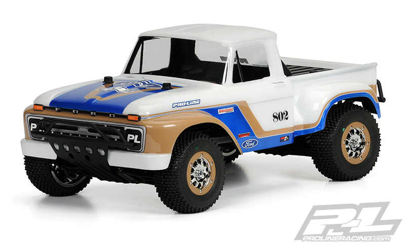 Pro-Line 1966 Ford F-100 Clear Body for SC