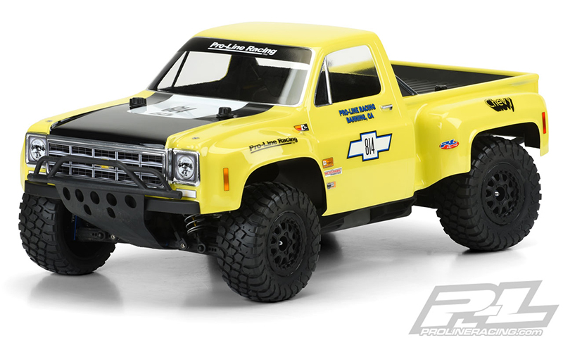 Pro-Line 1978 Chevy C-10 Race Truck Clear Body for SC