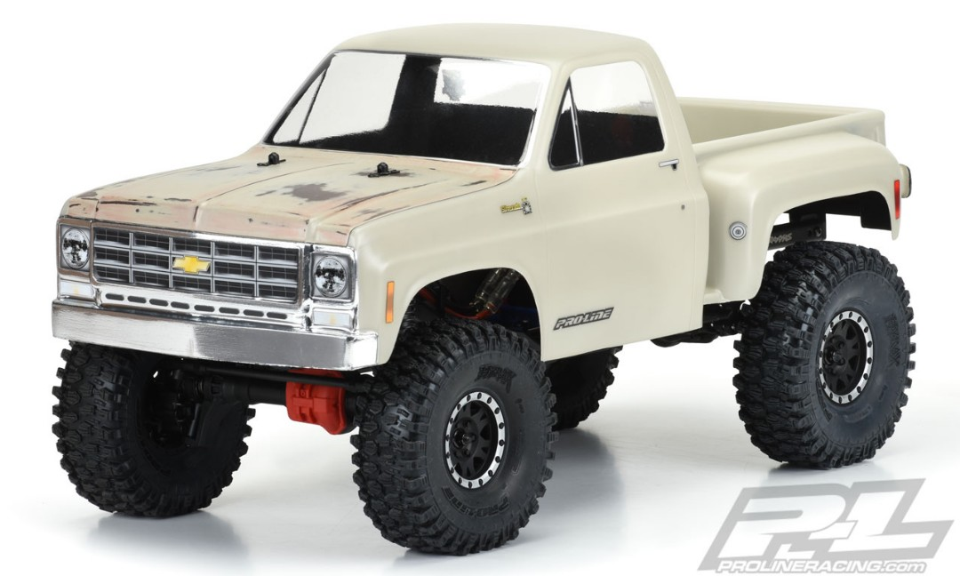 "Pro-Line 1978 Chevy K-10 for 12.3"" WB Scale Crawlers"