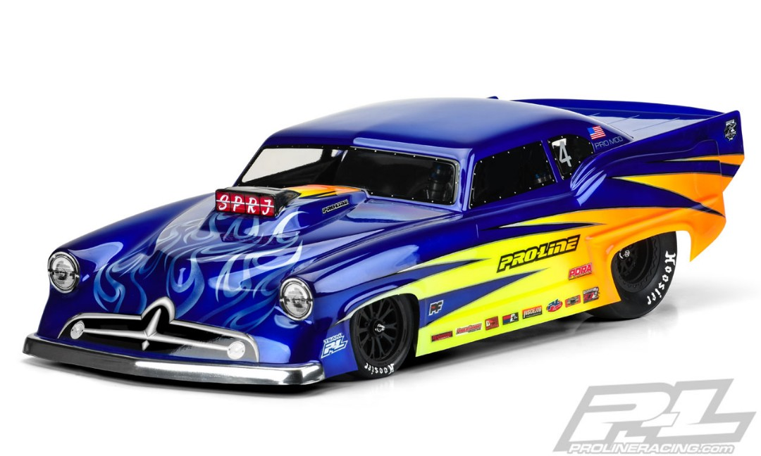 Pro-Line Super J Pro-Mod Clear Body for Slash 2wd Drag Car