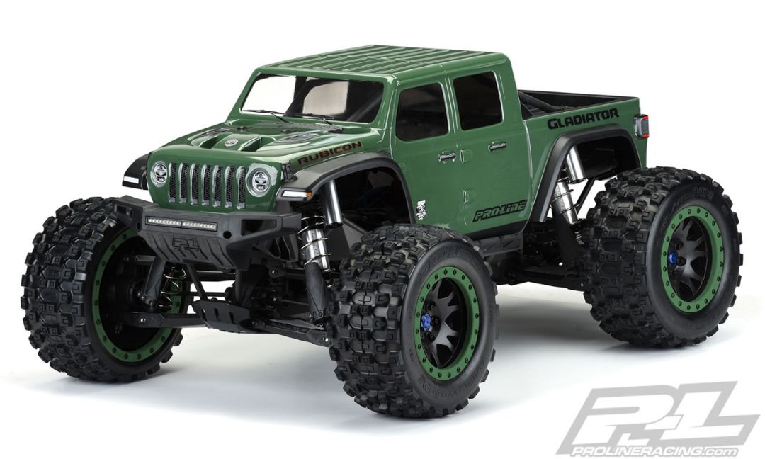 Pro-Line Pre-Cut Jeep Gladiator Rubicon Clear Body for X-MAXX