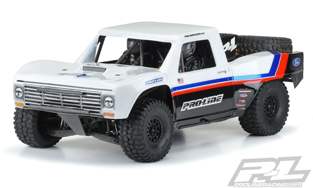 Pro-Line Pre-Cut 1967 Ford F-100 Race Truck Clear Body for Unlimited Desert Racer