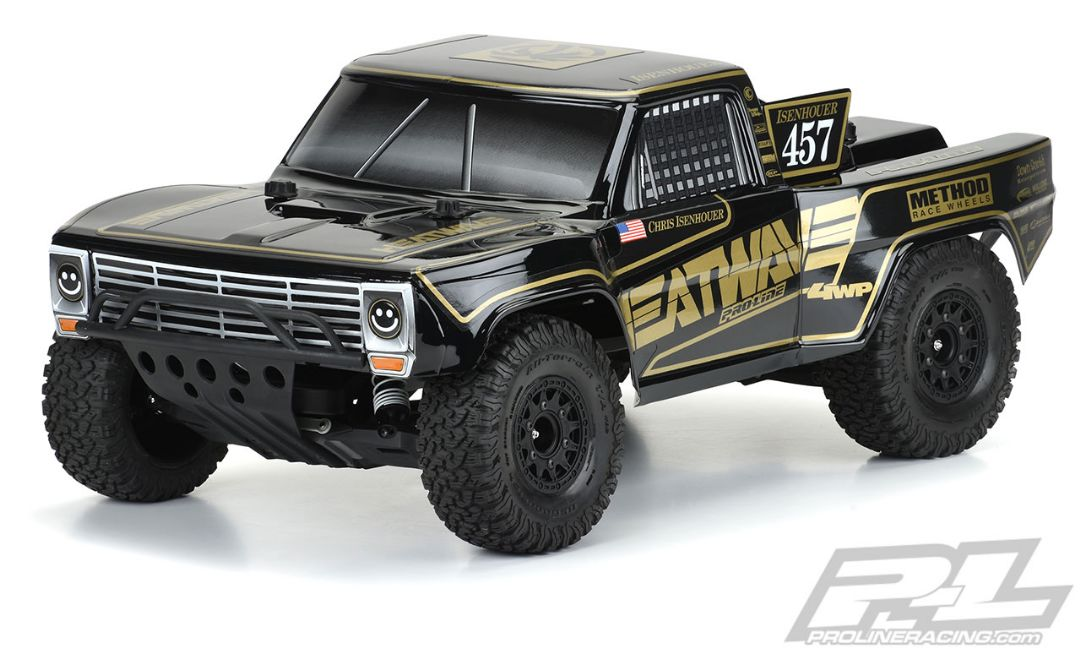Pro-Line Pre-Cut 1967 Ford F-100 Race Truck Heatwave Edition Tou