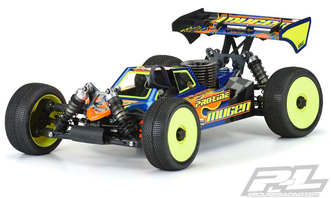 Pro-Line Axis Clear Body Mugen MBX8 & MBX8 Eco with LCG Battery