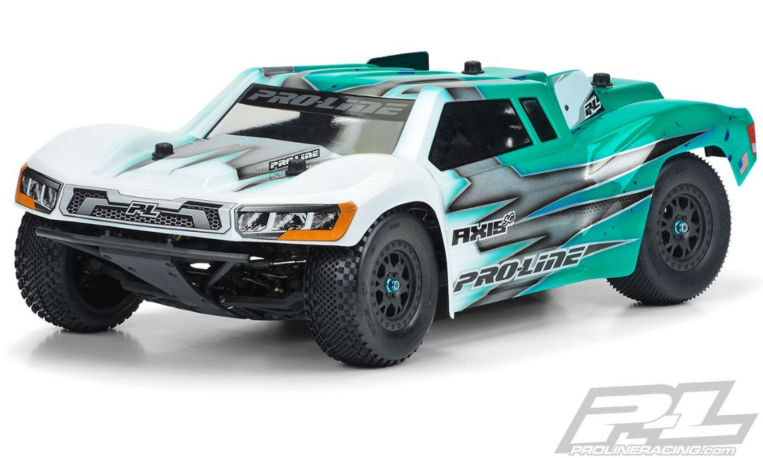 Pro-Line Axis SC Clear Body for Short Course