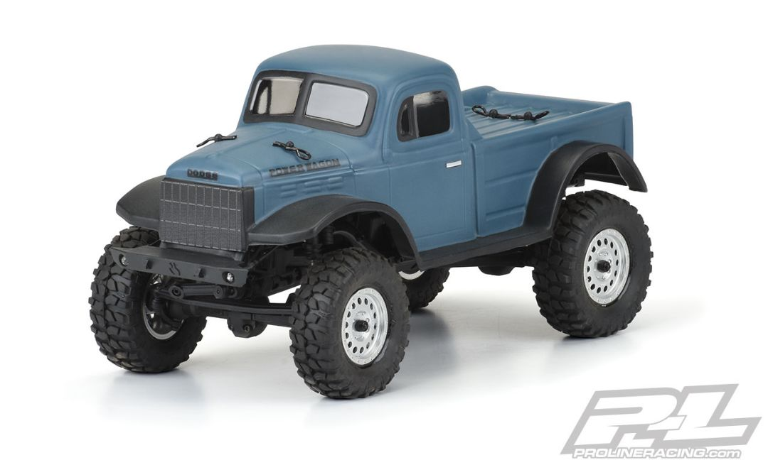 Pro-Line 1946 Dodge Power Wagon Clear Body SCX24 JLU