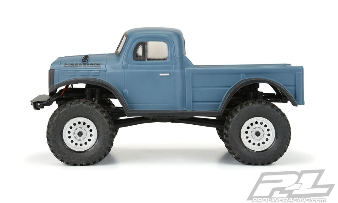 This Is A 1946 Dodge Power Wagon Clear Body For Scx24 Pro Line Is Proud To Introduce The 1946 Dodge Power Wagon Body For The Popular Scx24 Platform This First Gen Power Wagon Body Style Is Made In 1 24 Size That Stays True To The Original Military