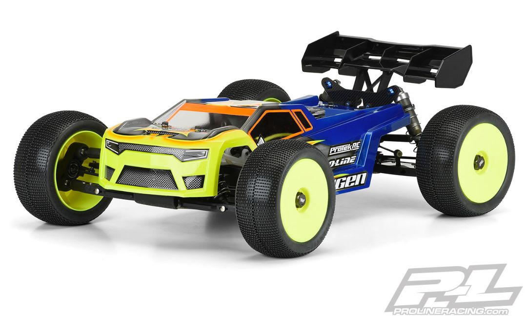 Pro-Line Axis T Clear Body for Mugen MBX8T & MBX8T Eco