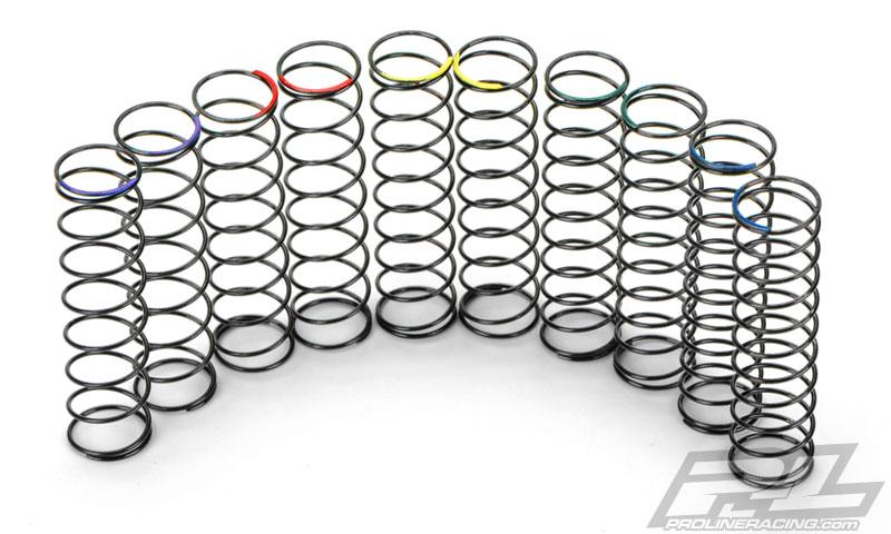 Pro-Line Pro-Spec Short Course Rear Spring Assortment for Pro-Spec Rear SC Shocks (6308-31)